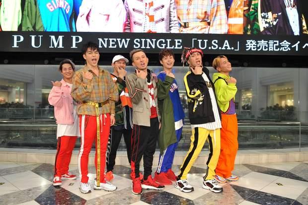 DA PUMP「U.S.A.」リリースイベント
