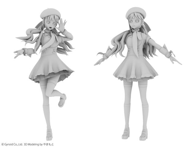 心華3Dモデル