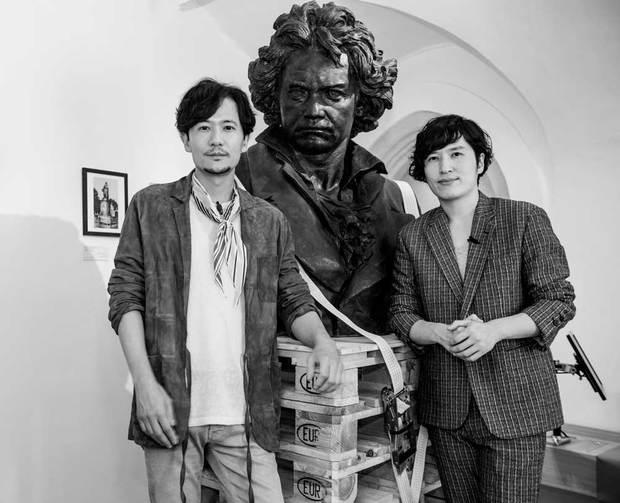 稲垣吾郎と清塚信也
