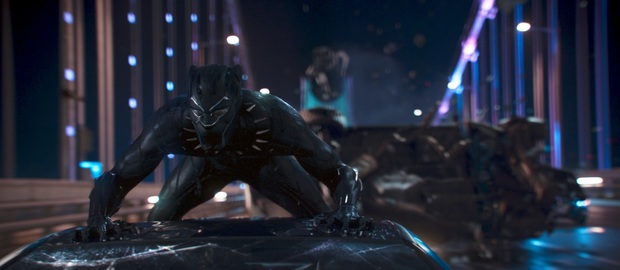 Marvel Studios' BLACK PANTHER..Black Panther/T'Challa (Chadwick Boseman)..Ph: Film Frame..©Marvel Studios 2018