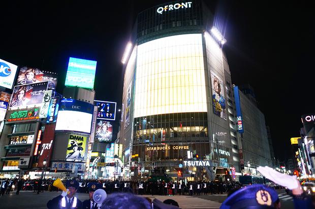 2016年渋谷ハロウィンの様子3