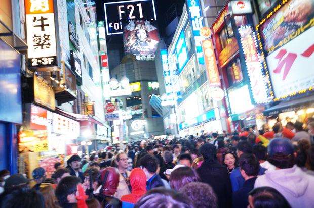 2016年渋谷ハロウィンの様子