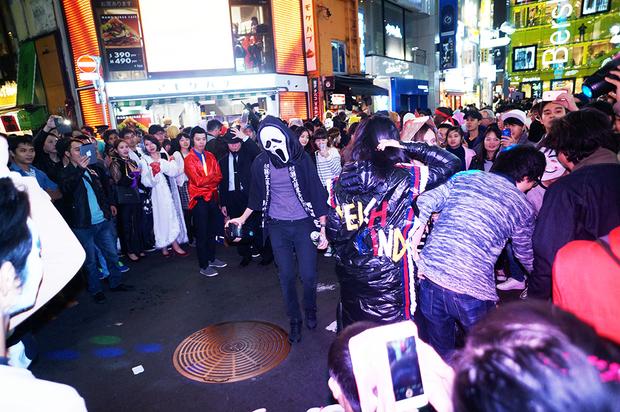 2016年渋谷ハロウィンの様子2