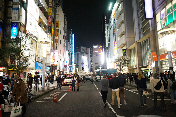 2016年渋谷ハロウィンの様子4