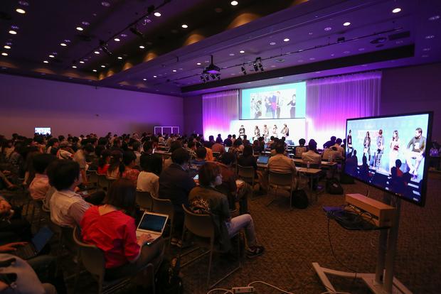 pixiv10周年イベントの会場