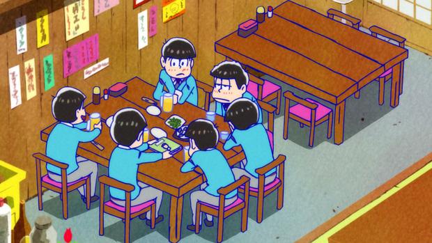 さが松り居酒屋 アニメ店内シーン