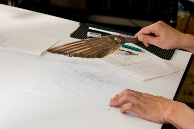 窪之内英策 × 駅すぱあと 手描きアニメ『サヨとコウの出発』イラスト制作&撮影風景8