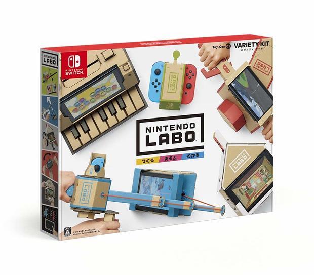 『Nintendo Labo Toy-Con 01: Variety Kit』/画像はAmazonより