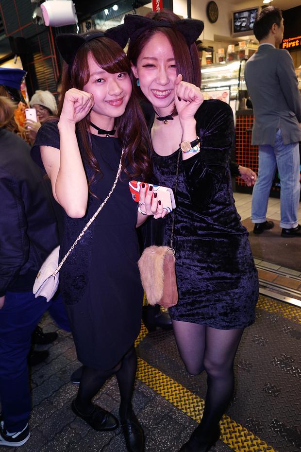 【スナップ写真】渋谷ハロウィンの仮装ギャルたち16