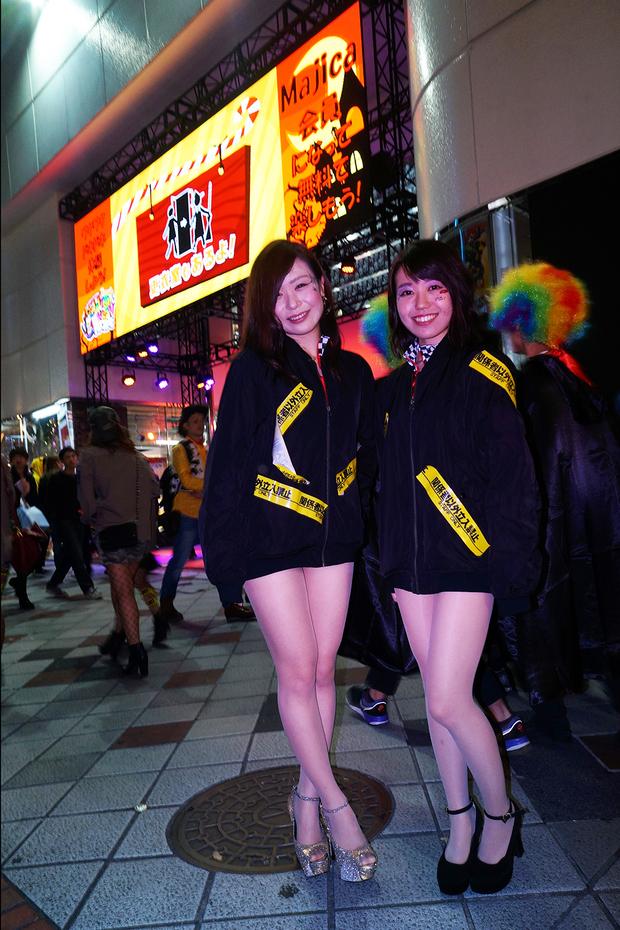 【スナップ写真】渋谷ハロウィンの仮装ギャルたち15