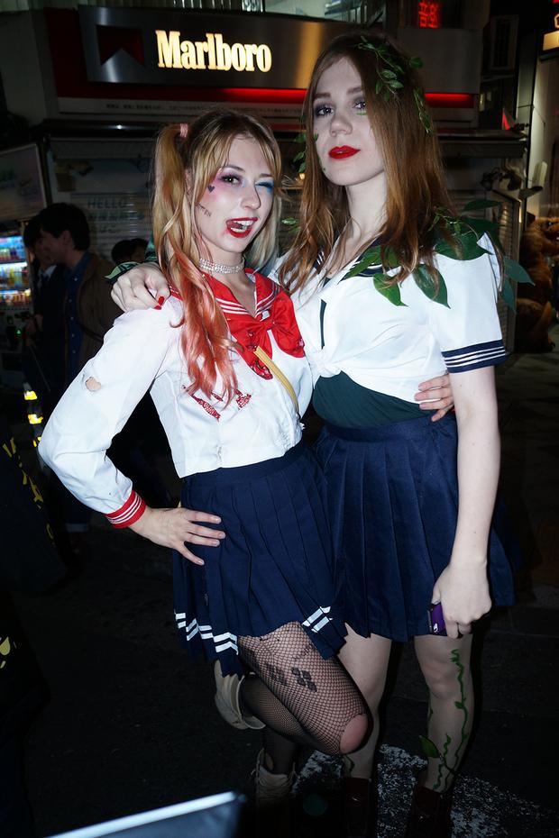 【スナップ写真】渋谷ハロウィンの仮装ギャルたち4