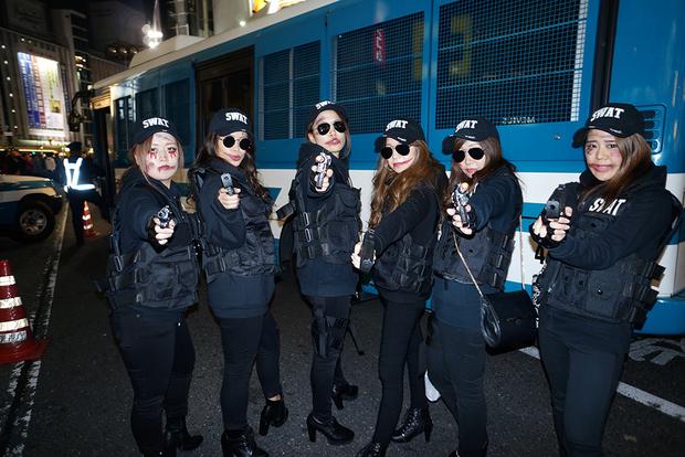 【スナップ写真】渋谷ハロウィンの仮装ギャルたち5
