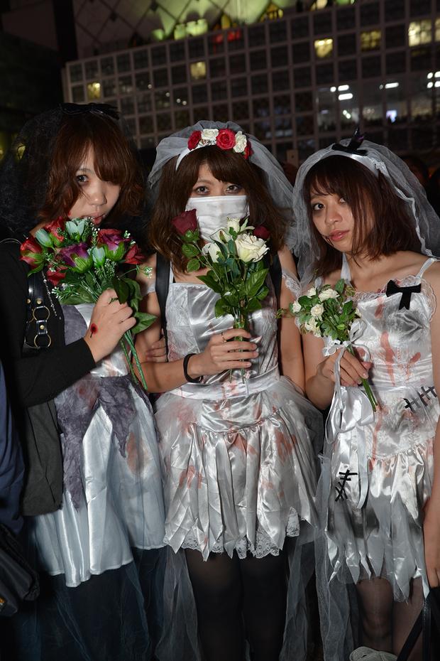 バラエティに富んだハロウィン仮装の数々5