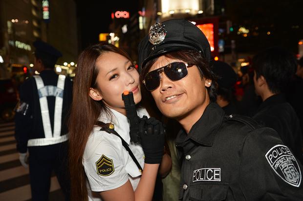 【スナップ写真】渋谷ハロウィンの仮装ギャルたち11