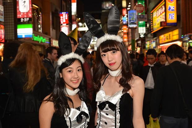 【スナップ写真】渋谷ハロウィンの仮装ギャルたち25