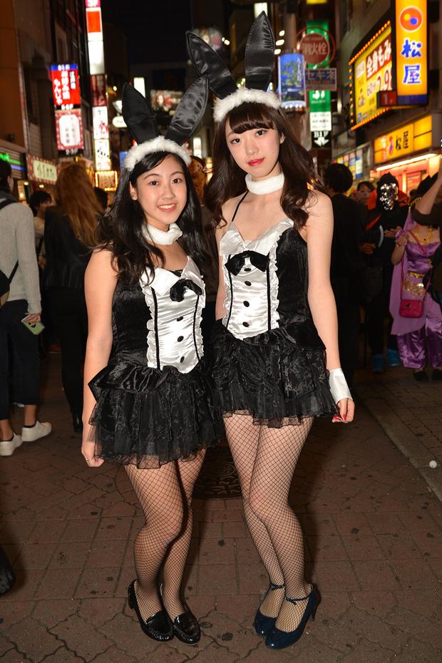 【スナップ写真】渋谷ハロウィンの仮装ギャルたち26