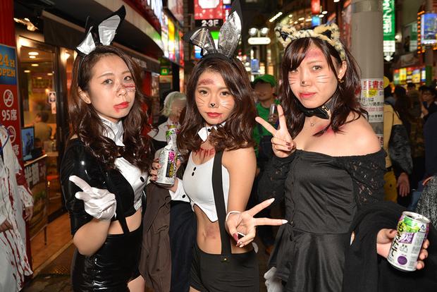 【スナップ写真】渋谷ハロウィンの仮装ギャルたち12