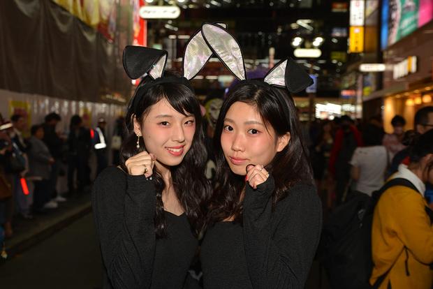 【スナップ写真】渋谷ハロウィンの仮装ギャルたち28