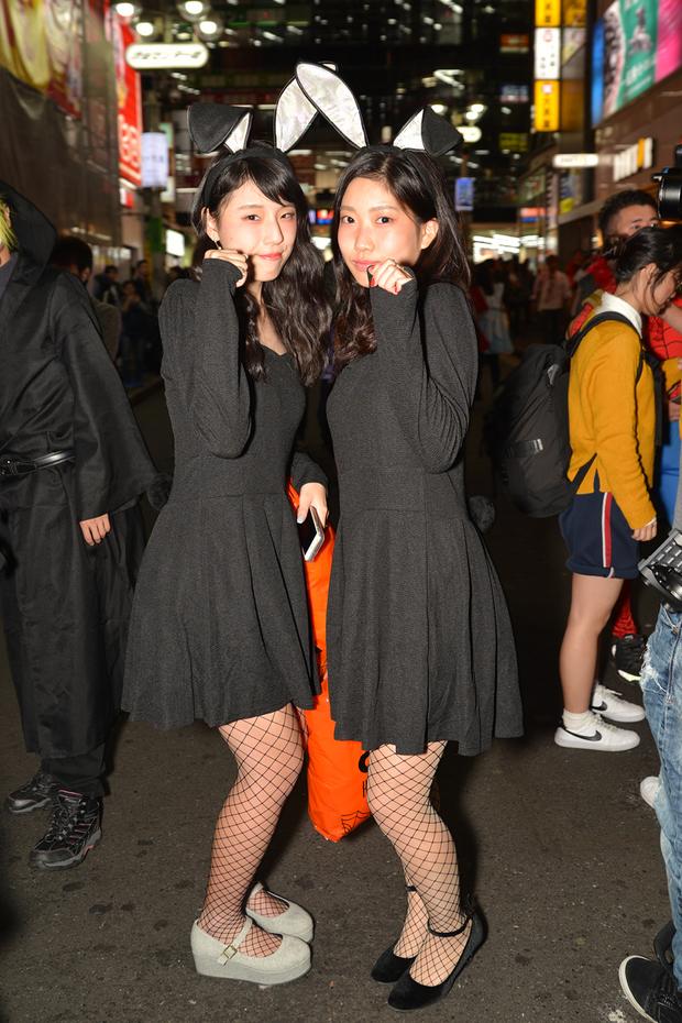【スナップ写真】渋谷ハロウィンの仮装ギャルたち29