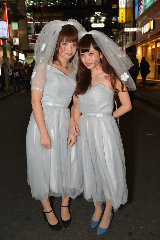 【スナップ写真】渋谷ハロウィンの仮装ギャルたち27