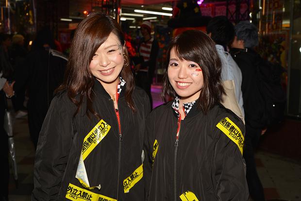 【スナップ写真】渋谷ハロウィンの仮装ギャルたち14