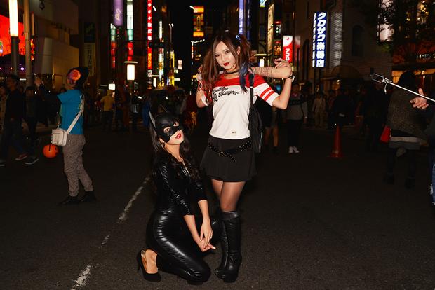 【スナップ写真】渋谷ハロウィンの仮装ギャルたち1