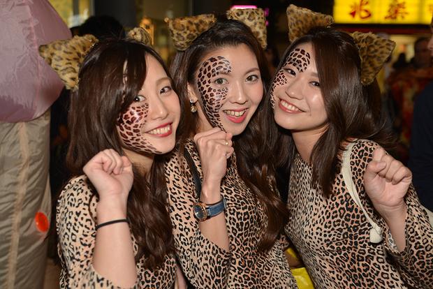 【スナップ写真】渋谷ハロウィンの仮装ギャルたち19