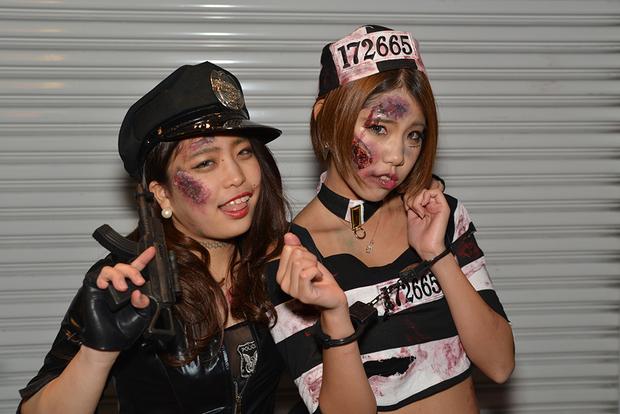 【スナップ写真】渋谷ハロウィンの仮装ギャルたち21