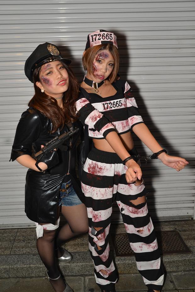 【スナップ写真】渋谷ハロウィンの仮装ギャルたち22
