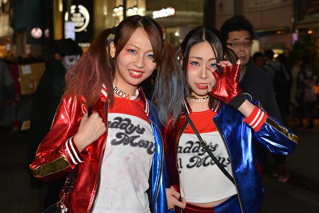 【スナップ写真】渋谷ハロウィンの仮装ギャルたち23