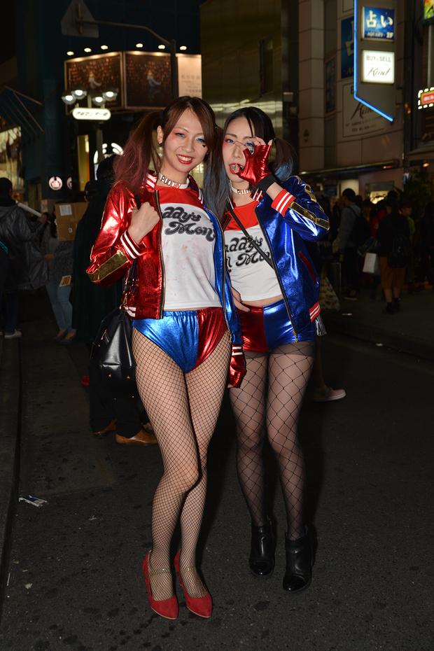 【スナップ写真】渋谷ハロウィンの仮装ギャルたち24