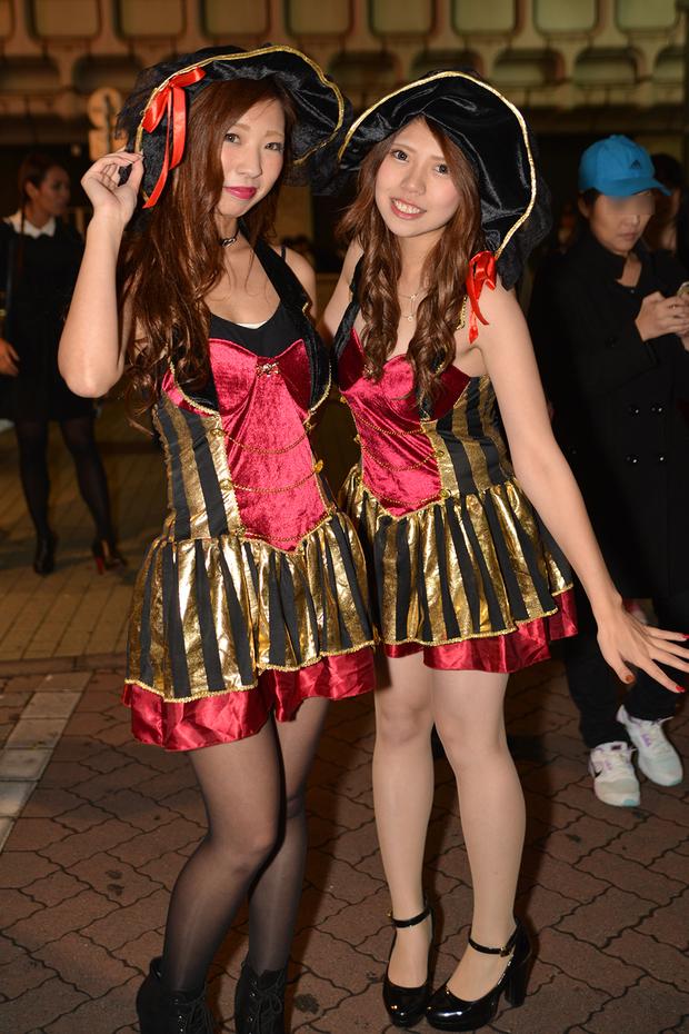【スナップ写真】渋谷ハロウィンの仮装ギャルたち18