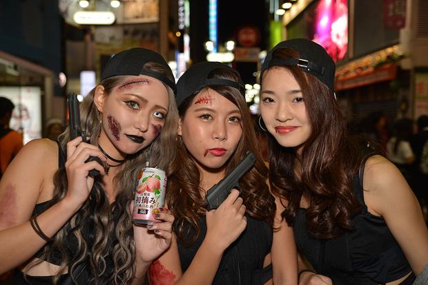 【スナップ写真】渋谷ハロウィンの仮装ギャルたち9