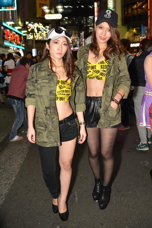 【スナップ写真】渋谷ハロウィンの仮装ギャルたち8