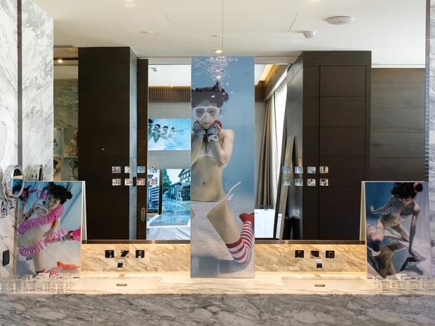 「Hotel Art Fair Bangkok 2018」での展示/撮影:逢坂憲吾さん