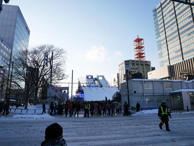 さっぽろ雪まつり_ジャンプ台