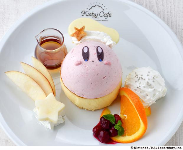 KirbyCafe カービィのふわふわパンケーキ