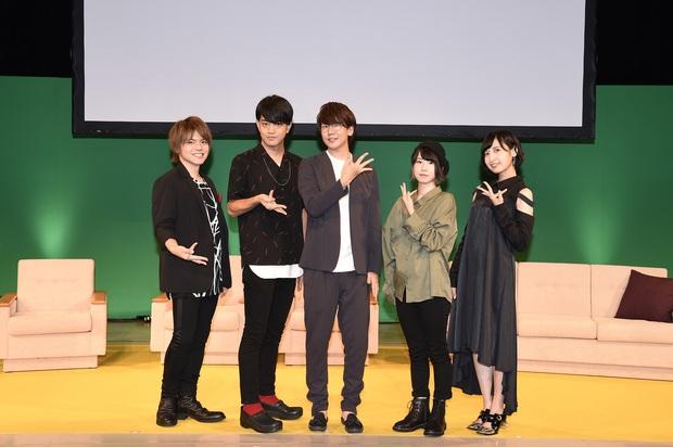 9月9日(日)開催 「東京喰種:re」Qsキャスト出演イベント 集合写真