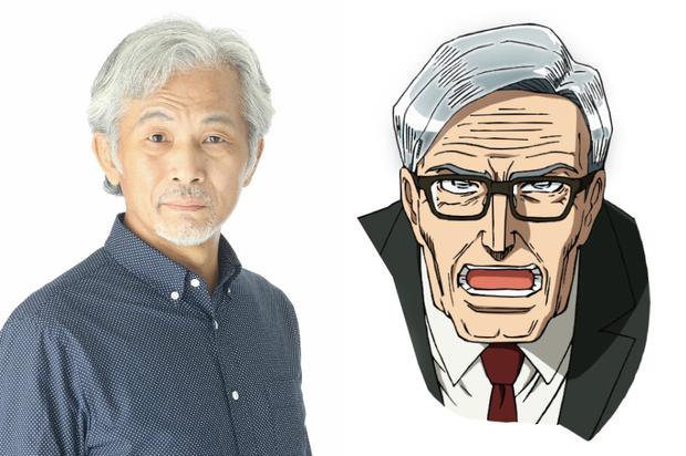 才賀正二を演じる田中正彦さん