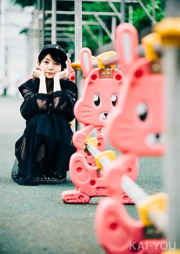 若菜葵さんインタビュー写真