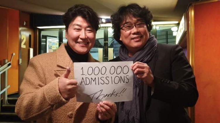 映画『パラサイト 半地下の家族』 日本での動員100万人、興収14億円突破