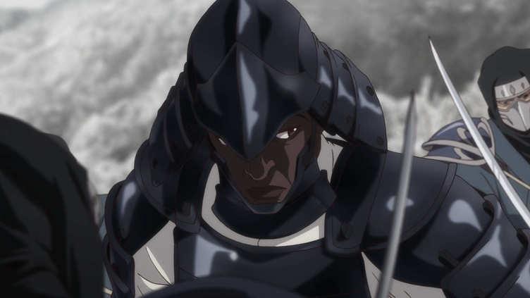 MAPPA×Netflix 新作アニメ『Yasuke』実在したアフリカ人サムライの物語を再構築
