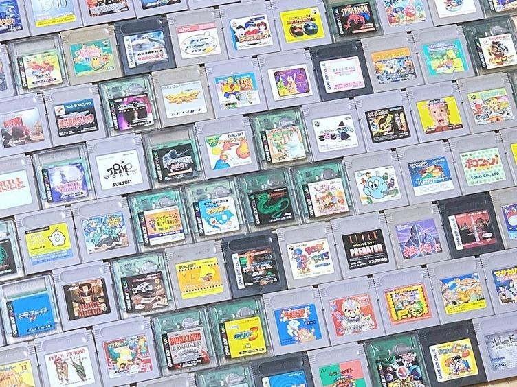 非売品を除くゲームボーイソフト全1244作をコンプリート 圧巻のコレクション