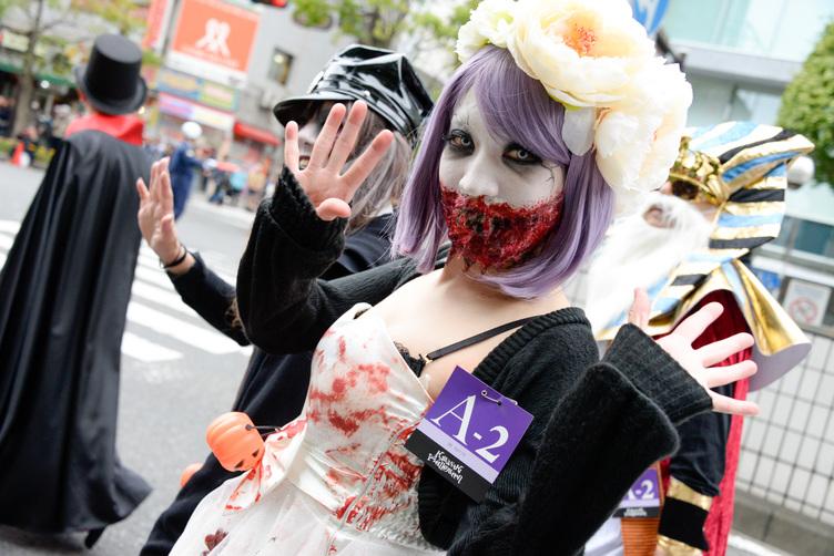 カワハロガチ仮装の行進が怖い ホラーなコスプレ激写100枚 Kai Younet