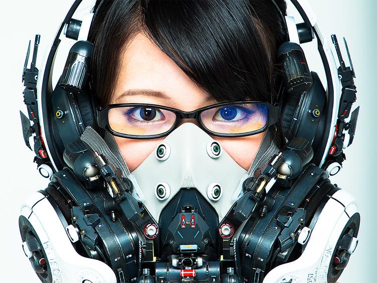 """【特別写真】""""SFガジェット×女の子""""…個展開催中の造形作家「池内啓人」とは?"""