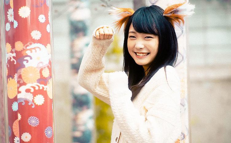 【写真】こんこん♪ 笑顔の「雪見みと」 はにかむ彼女と幻想的な京散歩