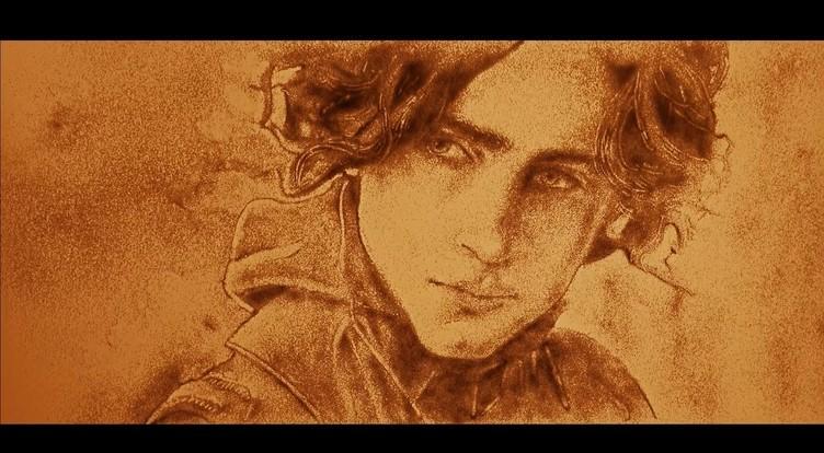 映画『DUNE/デューン 砂の惑星』がサンドアートに! 目を見張る繊細な世界観