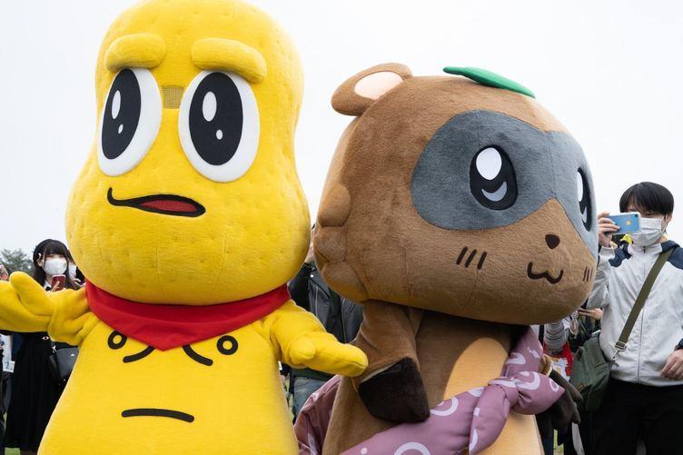 甲賀流忍者!ぽんぽこ「ゆるキャラGP2020」優勝 史上初ユニットでの連続グランプリ獲得