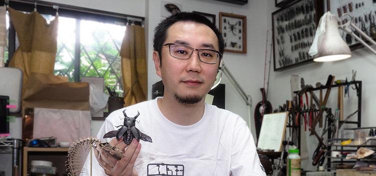 「情熱大陸」に超絶技巧の自在置物作家 満田晴穂 金属工芸の虫がかっこいい