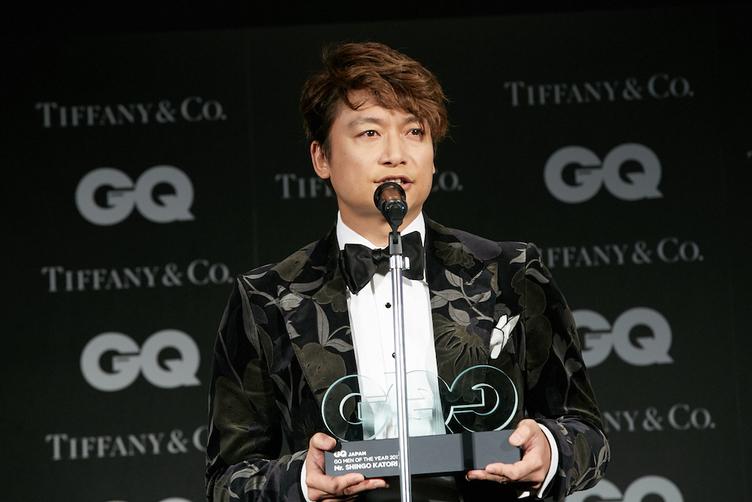 稲垣吾郎、草なぎ剛、香取慎吾が「GQ MEN OF THE YEAR 2017」に輝く